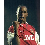 Ian Wright Signed 8x10 Arsenal Photograph