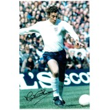 Martin Chivers 8x12 Signed England Photograph