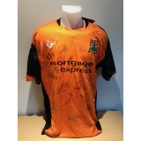 BARNET Squad Signed By 17 Players From 2009/10 Season Home Shirt For NADS CHARITY
