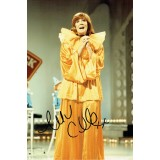Cilla Black Signed 8x12 Music Photograph