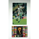 Michael Owen Signed 10x18 England 2005 Germany 2005 World Cup Mounted Photo Display
