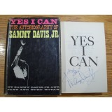 Sammy Davis Jr Signed YES I CAN The Autobiography