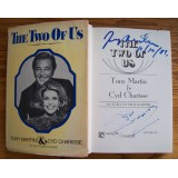 Tony Martin & Cyd Charisse Signed THE TWO OF US Hardback Book