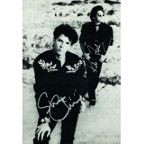 Climie Fisher Dual Signed 8x12 inch Autograph Photo-card