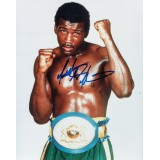 Matthew Saad Muhammad Signed 8x10 World Light Heavyweight Champion Photograph