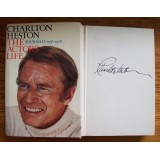 Charlton Heston Signed 'THE ACTORS LIFE JOURNALS 1956-1976' Hardback Book