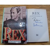 Rex Harrison Signed 'REX' AN AUTOBIOGRAPHY 1974 1st Edition Hardback Book