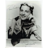 Joan Fontaine Signed 8x10 Promotional Photograph