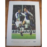 Matt Jansen Signed Blackburn Ltd Ed No 50/100 Print