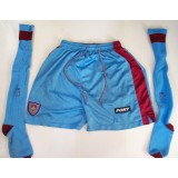 Tony Cottee 1990's West Ham Worn Away Kit Pony Shorts & Socks