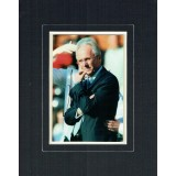 Sven-Goran Eriksson Signed 6x4 Inch Mounted Photograph