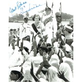 Nicol Williamson & Janet Suzman Dual Signed LORD MOUNTBATTEN: THE LAST VICEROY 10 x 8 Photo