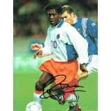 Clarence Seedorf Netherlands Signed 12x8 Holland Football Magazine Page