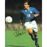 Gianfranco Zola Signed Italy 10x8 Football Magazine Page
