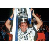 Gary Mabbutt Signed & Dedicated 12x8 Tottenham Hotspur Football Photograph