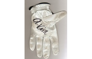 Anthony KIM Signed Game Worn Golf Glove!