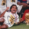 Christian Karembeu Signed France 98 World Cup 8x12 Photo