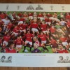 Manchester Utd Signed 'Legends Of Old Trafford' Limited Edition Print Signed By 27 Legends