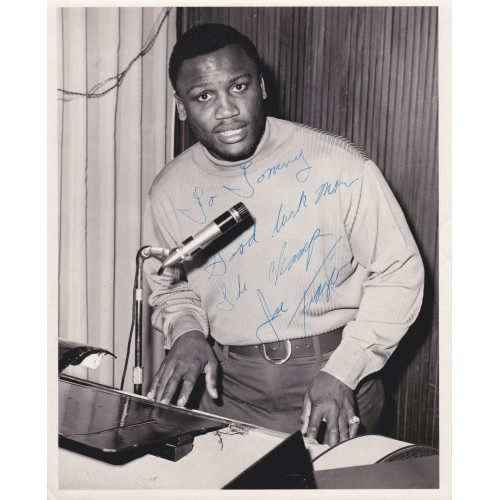 Joe Frazier RARE 8x10 Signed Vintage Boxing Photograph