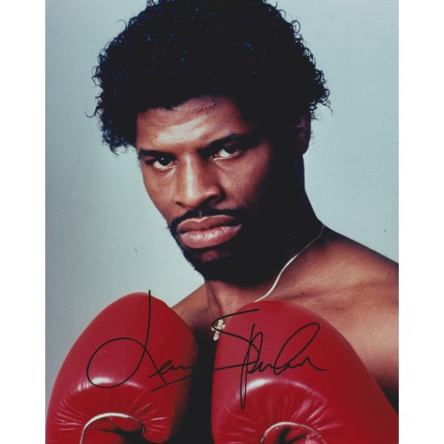 Leon Spinks 8x10 Signed Photograph
