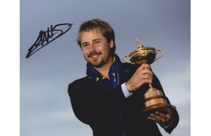 Victor Dubuisson  Signed 8x10 Ryder Cup  Photograph
