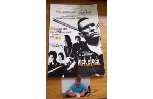 Vinnie Jones & Nick Moran 12x16 Signed (At a Private Signing) Lock Stock Photograph