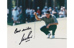 Nick Price 8x10 Signed Golf Photograph
