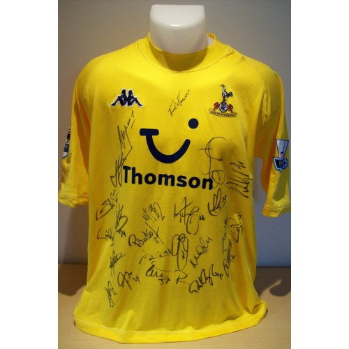 Ledley King  Squad Signed Replica 'Spurs'Away Shirt