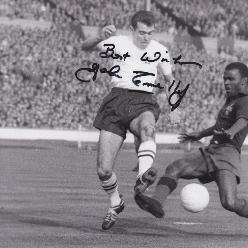 John Connelly Signed 8x 8 England Photograph