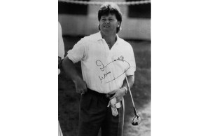 Ian Woosnam Signed 8x10 Photograph