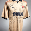 Arsenal Squad Signed Away Replica Shirt From The 2001-02 Double-Winning Season