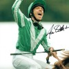 Frankie Dettori 12x16 Signed Horse Racing Photograph