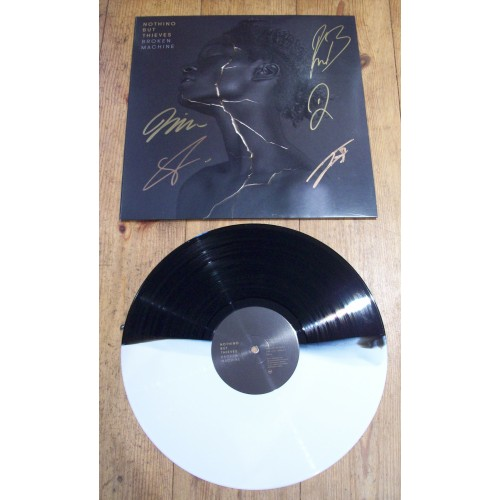 Nothing But Thieves Band Signed Broken Machine Vinyl Lp 26202