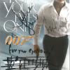 Roger Moore Bond For Your Eyes Only 007 DVD Cover Multi Signed