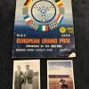 Jim Clark & Stirling Moss Signed Brands Hatch 1964 European Grand Prix Programme