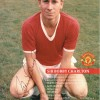 Sir Bobby Charlton 4x6 Signed Official Manchester Utd Postcard