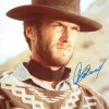 Clint Eastwood RARE Signed 8x12 'The Good The Bad & The Ugly' Photograph