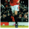 Michael Carrick Signed Card and 8x12 Manchester Utd Photograph