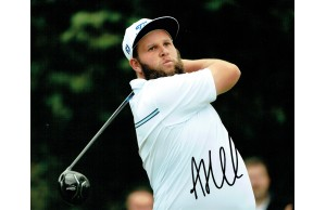 Andrew (Beef) Johnston Signed 8x10 Golf Photograph