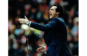 Unai Emery New Arsenal Manager Signed 8x 10 Football Photograph