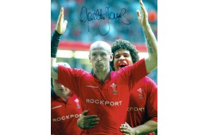 Gareth Thomas Signed 8x10 Wales Rugby Photograph