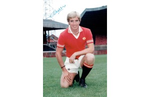 Colin Waldron Signed Manchester Utd 12x8 Photograph