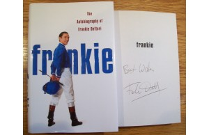 Frankie Dettori 'Signed Book The Autobiography of Frankie