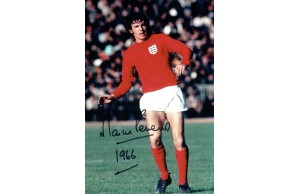 Martin Peters 8x12 Signed 1966 England Photograph