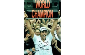 Jenson Button Signed F! 2009 World Champion Motor Racing 12 x 8 Inch Photograph