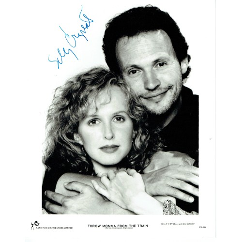 Billy Crystal Signed 'THROW MOMMA FROM THE TRAIN' Film 10 x 8 Photograph