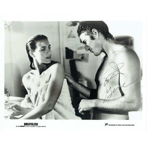 Richard Gere Signed BREATHLESS Film 10 x 8 Photograph