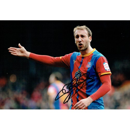 Glen Murray Signed Crystal Palace 8x12 Photograph