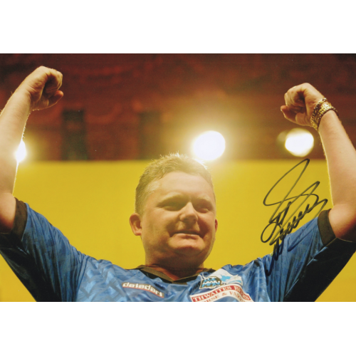 Alan Warriner-Little signed Darts 8x12 Photo